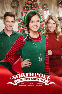 Northpole: Open for Christmas movie poster.