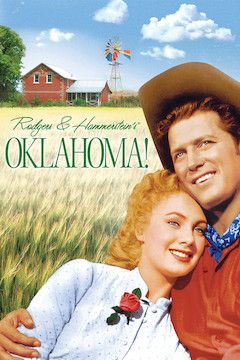 Oklahoma! movie poster.