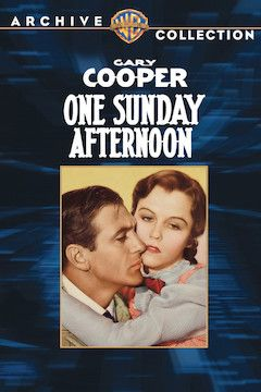 One Sunday Afternoon movie poster.