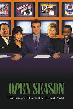 Open Season movie poster.