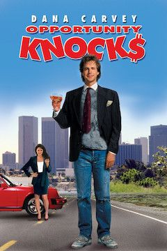 Opportunity Knocks movie poster.