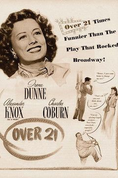 Poster for the movie Over 21