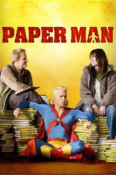 Poster for the movie Paper Man