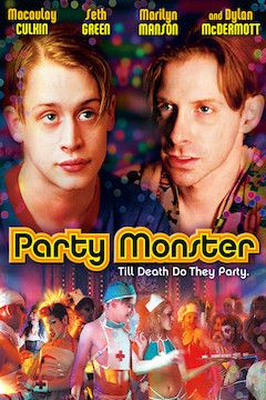Party Monster movie poster.