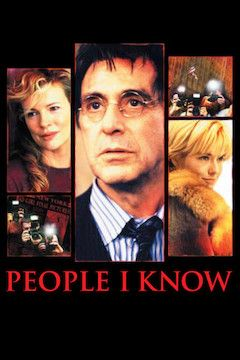 People I Know movie poster.