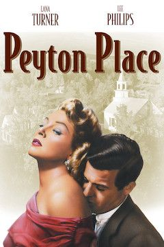 Poster for the movie Peyton Place