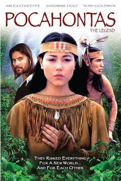 Poster for the movie Pocahontas: The Legend