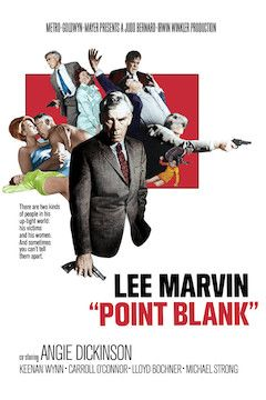 Point Blank movie poster.