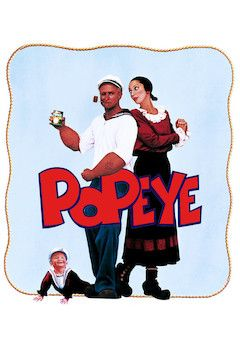 Popeye movie poster.
