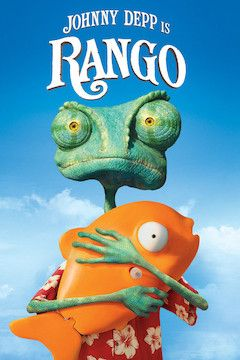 Rango movie poster.