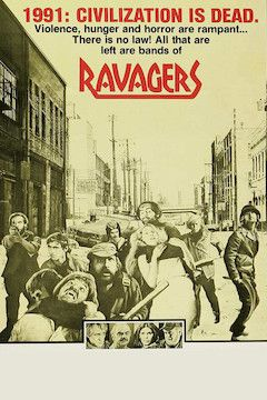 Ravagers movie poster.