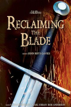 Reclaiming the Blade movie poster.