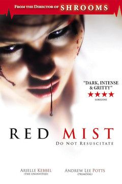 Red Mist movie poster.