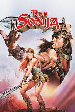 Poster for the movie Red Sonja