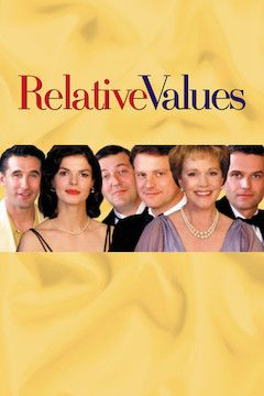 Relative Values movie poster.