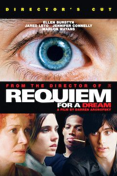 Requiem for a Dream movie poster.