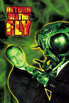 Return of the Fly movie poster.