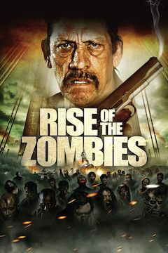 Rise of the Zombies movie poster.