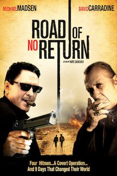 Road of No Return movie poster.