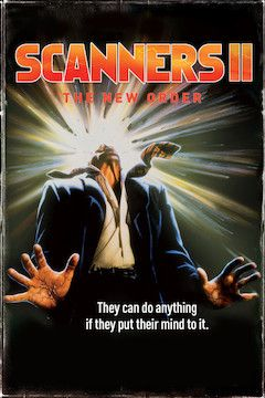 Scanners II: The New Order movie poster.