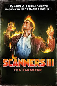 Scanners III: The Takeover movie poster.