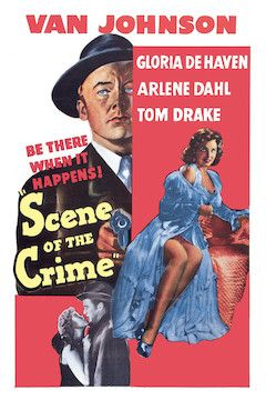 Scene of the Crime movie poster.