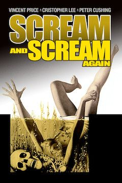 Scream and Scream Again movie poster.