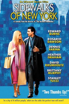 Poster for the movie Sidewalks of New York
