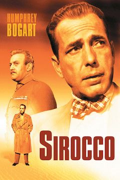 Sirocco movie poster.
