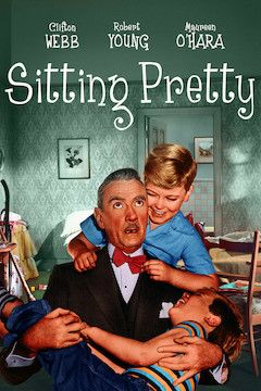 Sitting Pretty movie poster.