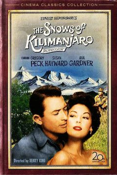Snows of Kilimanjaro movie poster.