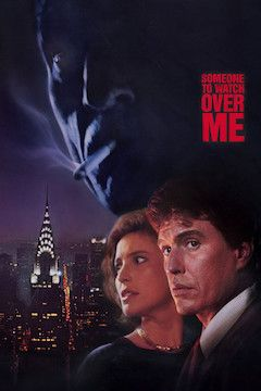 Poster for the movie Someone to Watch Over Me