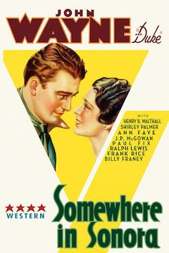 Poster for the movie Somewhere in Sonora