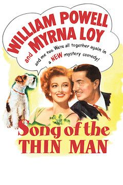 Song of the Thin Man movie poster.