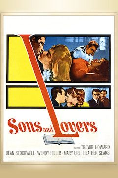 Sons and Lovers movie poster.