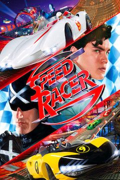 Poster for the movie Speed Racer