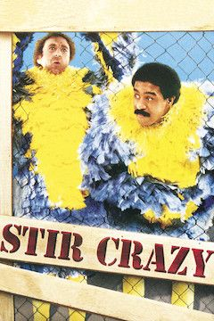 Stir Crazy movie poster.