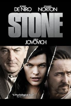 Poster for the movie Stone