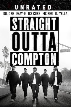 Poster for the movie Straight Outta Compton