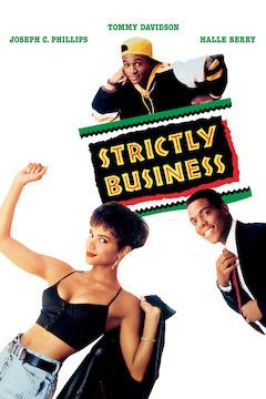 Strictly Business movie poster.