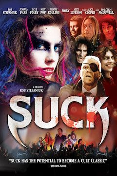 Suck movie poster.