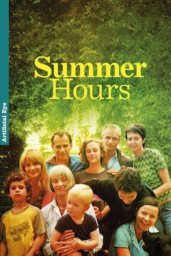 Summer Hours movie poster.