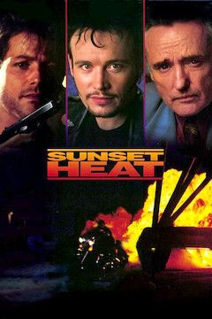 Sunset Heat movie poster.