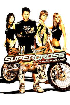 Supercross movie poster.