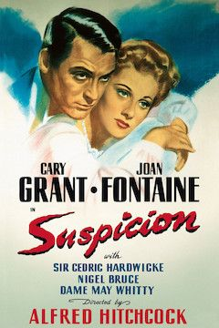 Suspicion movie poster.