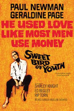 Sweet Bird of Youth movie poster.