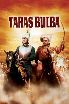 Taras Bulba movie poster.
