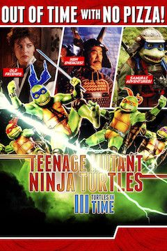 Teenage Mutant Ninja Turtles III movie poster.