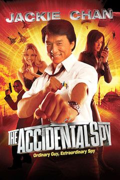 The Accidental Spy movie poster.