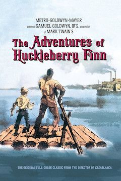 The Adventures of Huckleberry Finn movie poster.